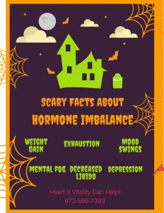 Scary Facts About Hormone Imbalance Flier